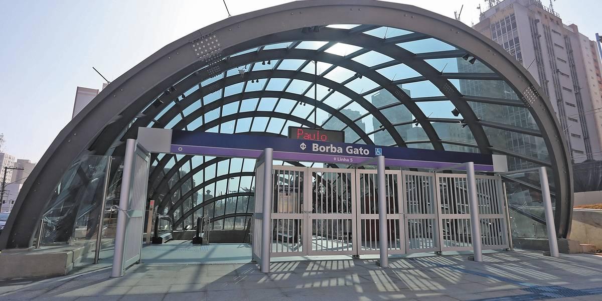 Estações da linha 5-Lilás inauguradas em setembro passam a funcionar diariamente