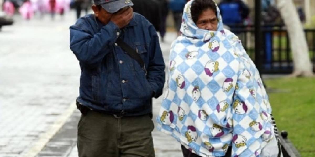 Este domingo continuarán las bajas temperaturas en gran parte del país