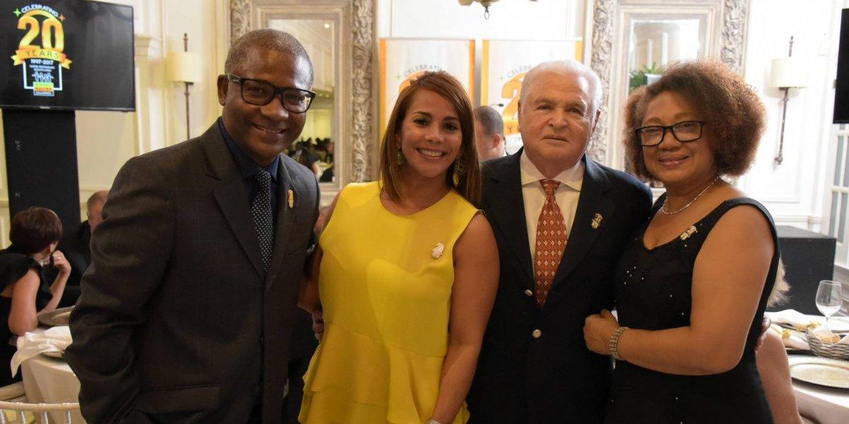 #TeVimosEn: Cena de gala por 20 aniversario de BRA Dominicana