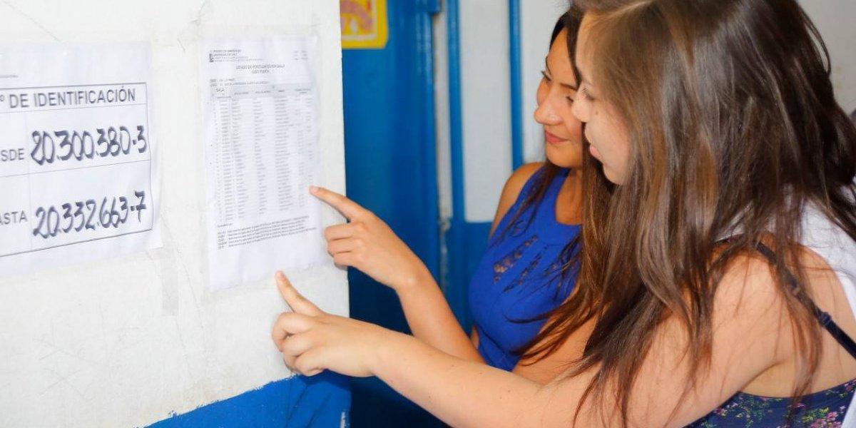 PSU a la vista: inscritos reconocieron salas a un día del inicio de la prueba