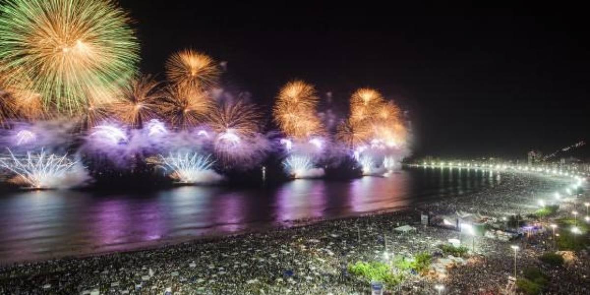 Réveillon 2018 em Copacabana terá 17 minutos de queima de fogos