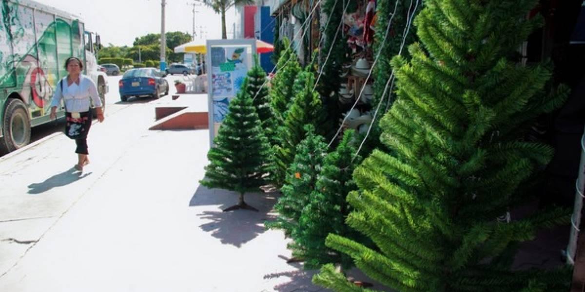 El 60% de incendios en diciembre se genera por árboles de Navidad