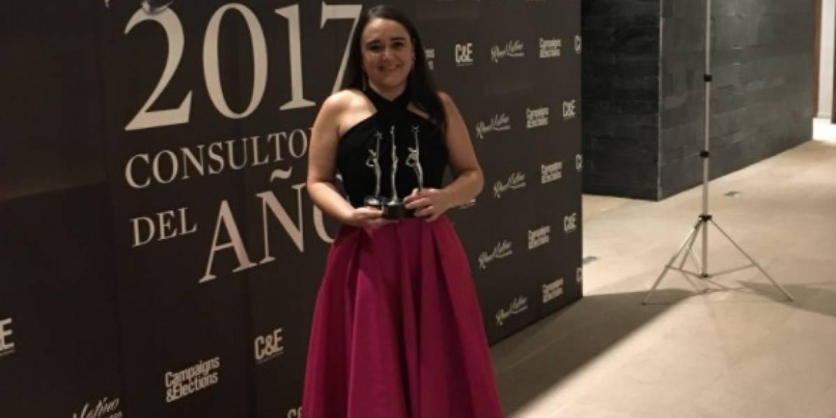Alejandra Sota premiada como Consultora del Año