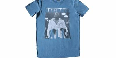 Las t-shirts que rinden tributo a tres leyendas