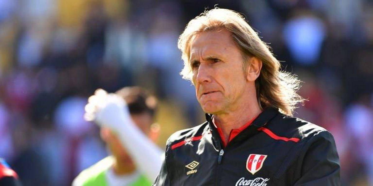 Gareca revela que estuvo a punto de decirle que no a Perú