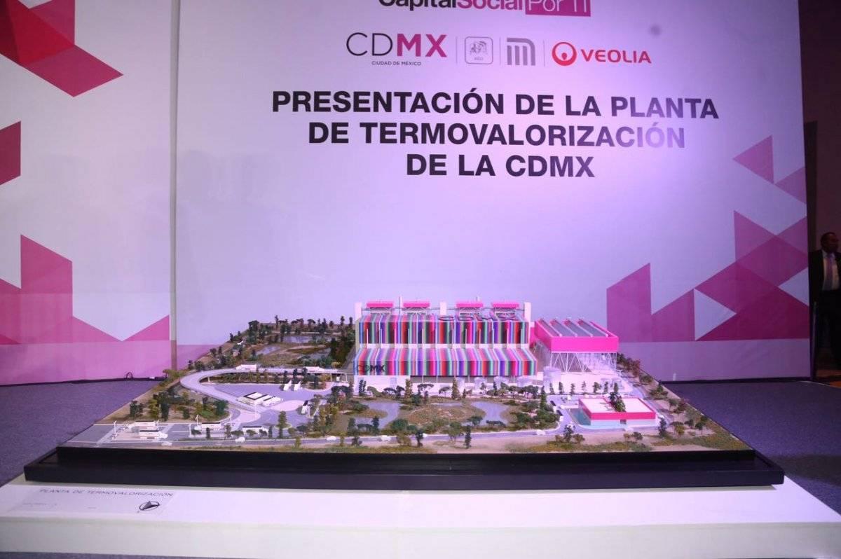 El contrato firmado por el Gobierno y la empresa operadora de la planta, Veolia, es a 30 años | Foto: Especial