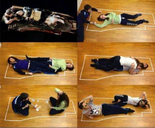 Final del titanic