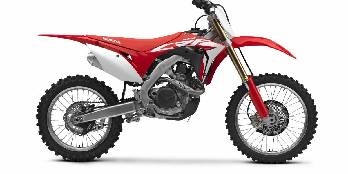 Con arranque electrónico llega la nueva Honda CRF450R
