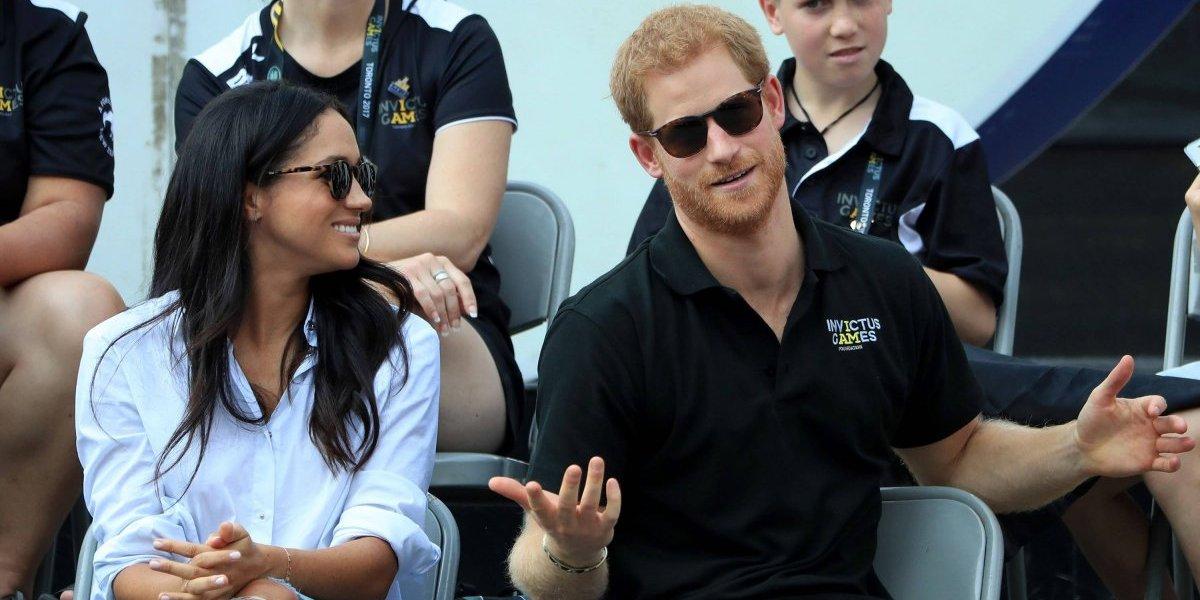 Príncipe Harry diz que se apaixonou à primeira vista