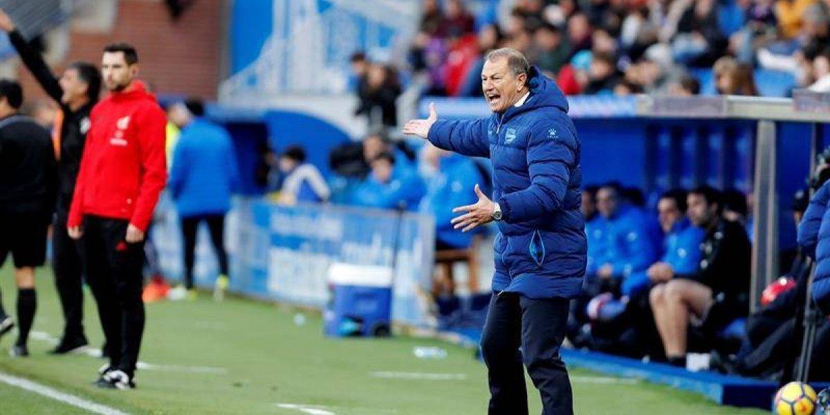 Maripán se hunde en el fondo con Alavés y vuelve a quedar sin entrenador en España