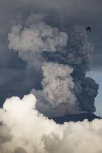 Volcán Agung en Bali