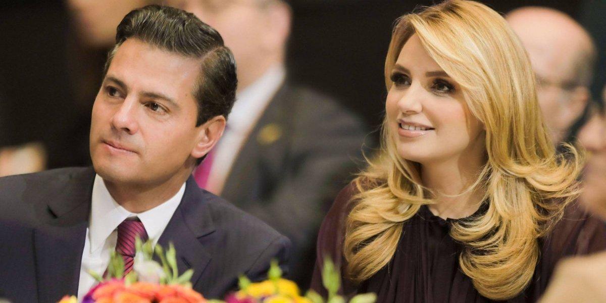 Peña Nieto felicita a Angélica Rivera por séptimo aniversario de bodas