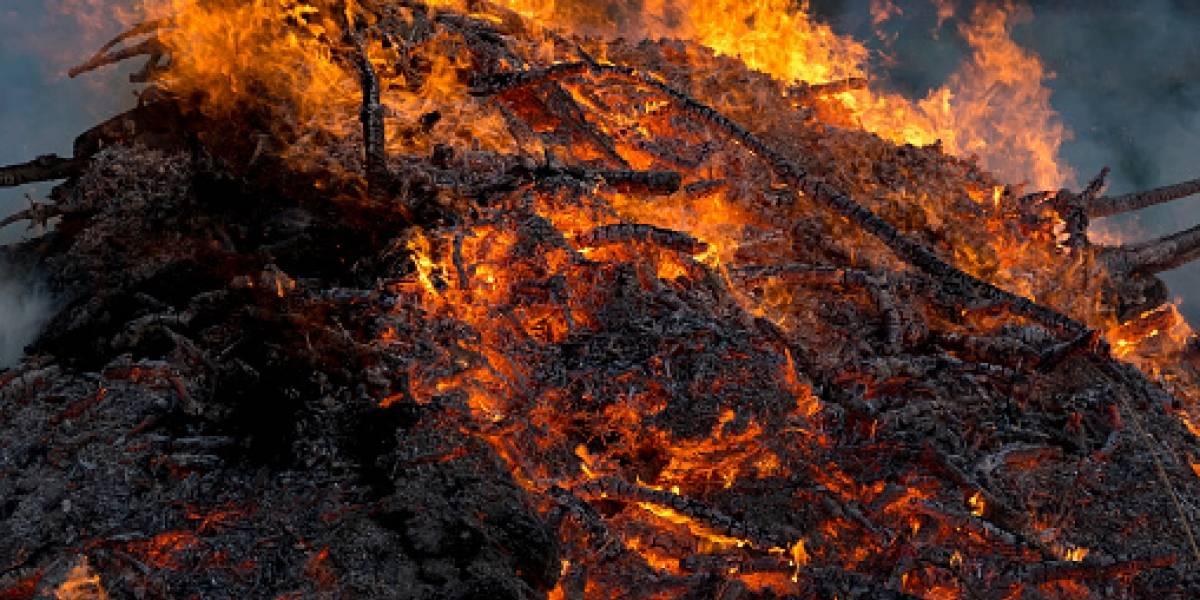 Adolescente resultó quemado en polvorería que explotó