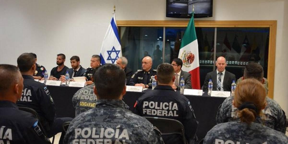 Gobierno Israelí capacita a Policía Federal mexicana con curso de defensa personal