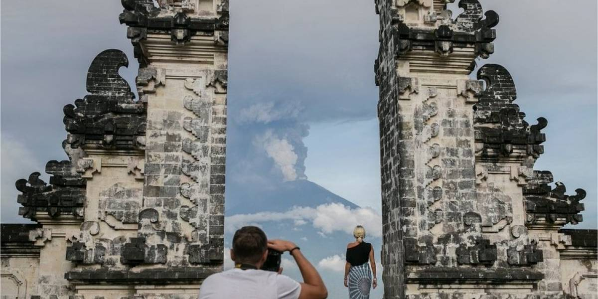 En imágenes: alerta máxima en Bali por la inminente erupción a gran escala del volcán Agung, dormido desde 1963