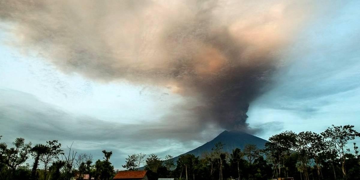 En imágenes: alerta máxima en Bali por la inminente erupción a gran escala del volcán Agung, dormido desde 1964