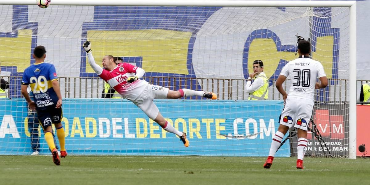 Hinchas de Everton perdieron la paciencia con Eduardo Lobos: con fuerte lienzo piden su salida