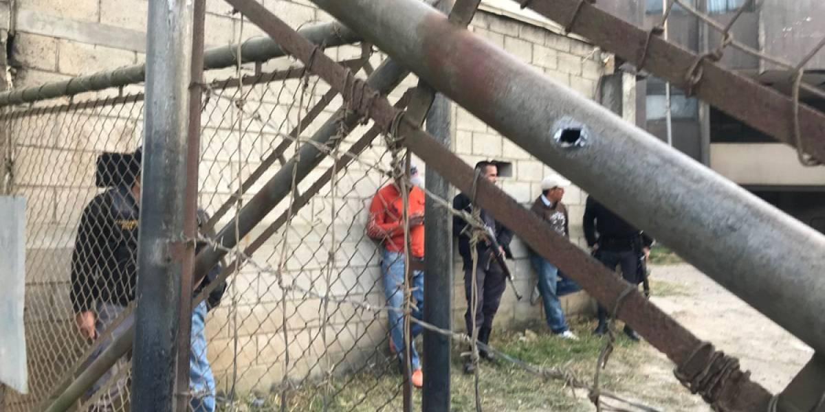 Atacan a balazos a guardias del Sistema Penitenciario en Fraijanes