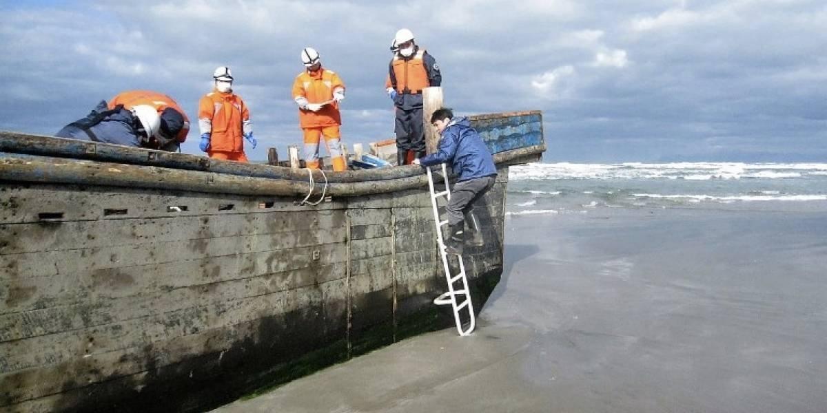 """Un barco """"fantasma"""" con ocho cadáveres aparece en las costas de Japón"""