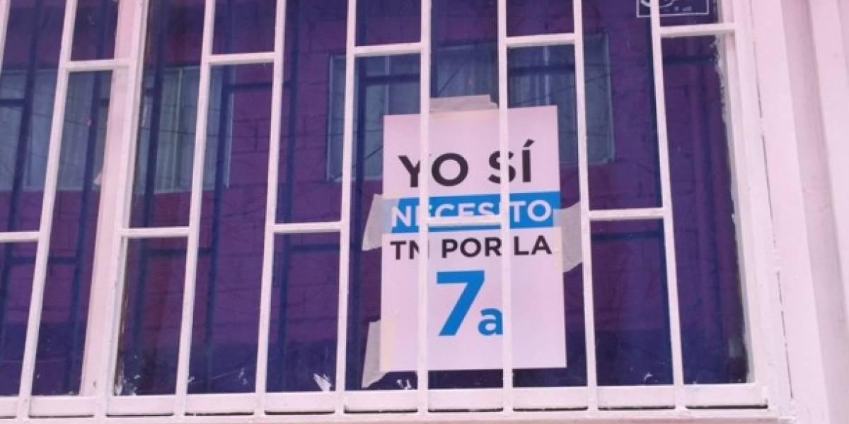 Los carteles de la alcaldía de Bogotá sobre TM por la Séptima y generaron tremendo debate en redes