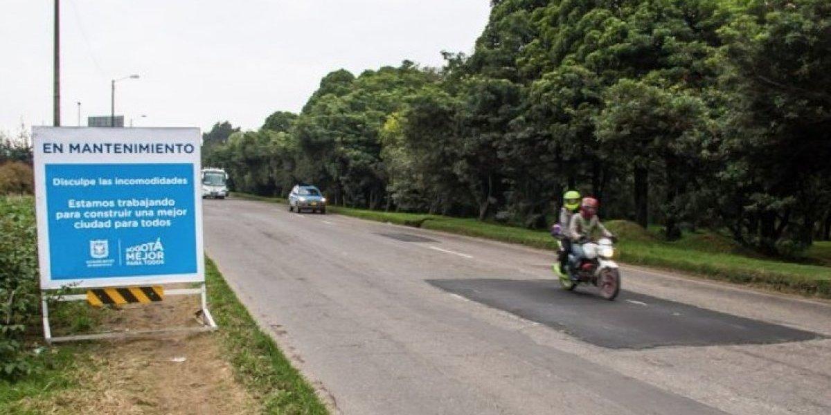 ¡Pilas! Iniciarán trabajos de mantenimiento vial en la Autopista Norte