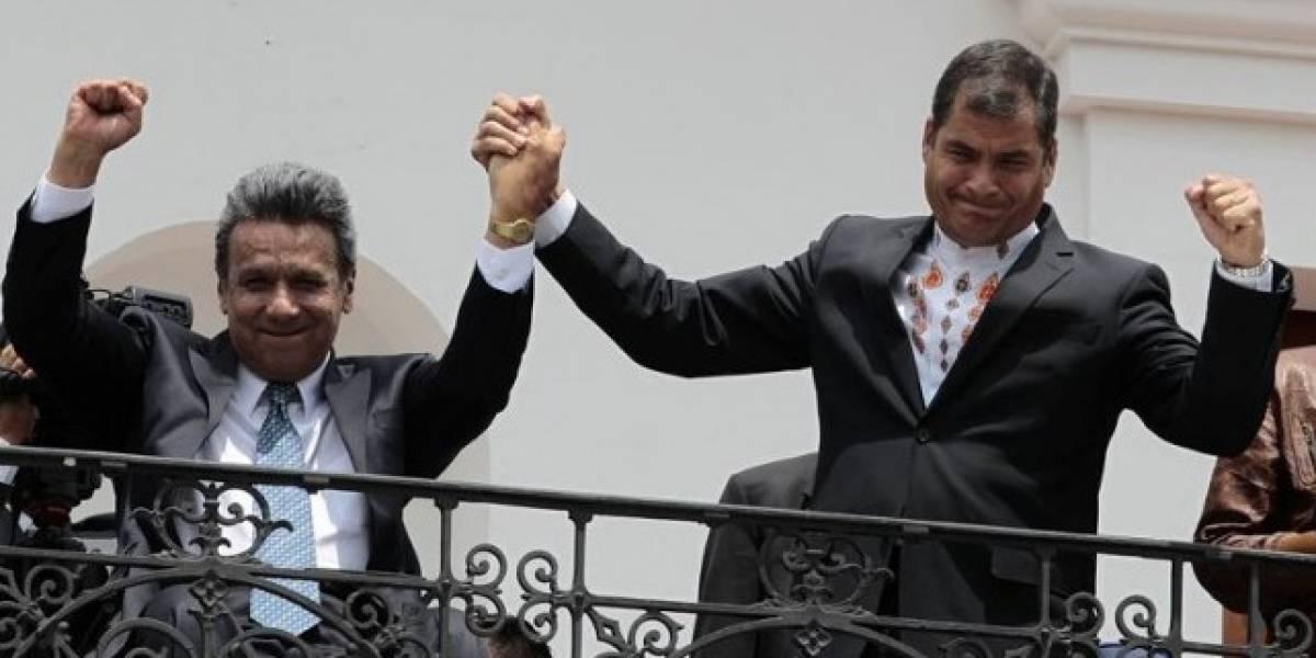 Rafael Correa se reunirá con Lenín Moreno con una condición
