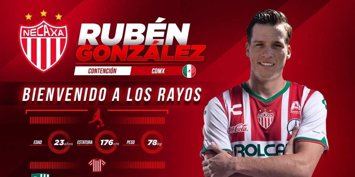 Necaxa anuncia a su primer refuerzo para el Clausura 2018