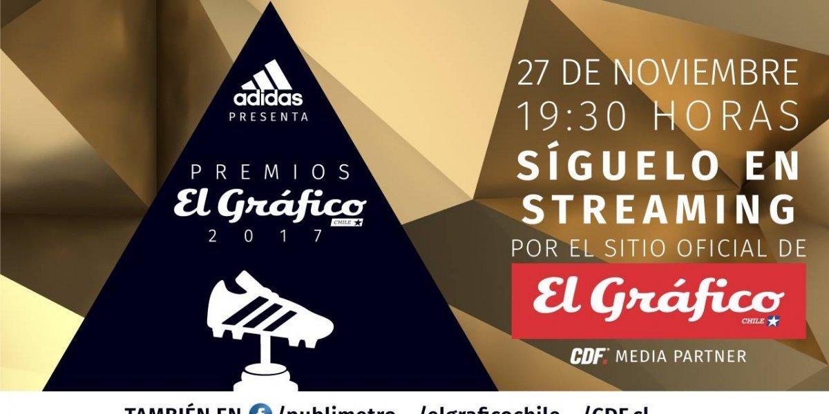 Los Premios El Gráfico 2017 visten de gala al fútbol chileno