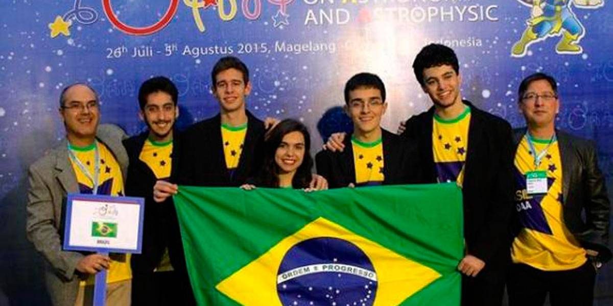 Brasil ganha 5 medalhas na Olimpíada Internacional de Astronomia e Astrofísica