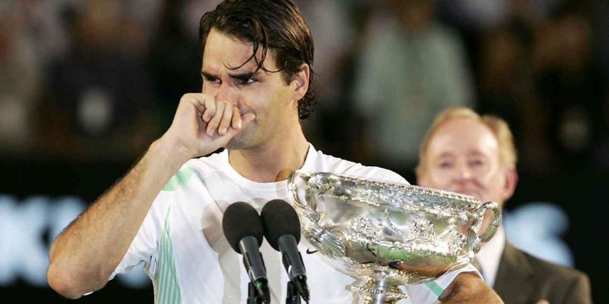 ¿Por qué llora Federer cuando gana un torneo?