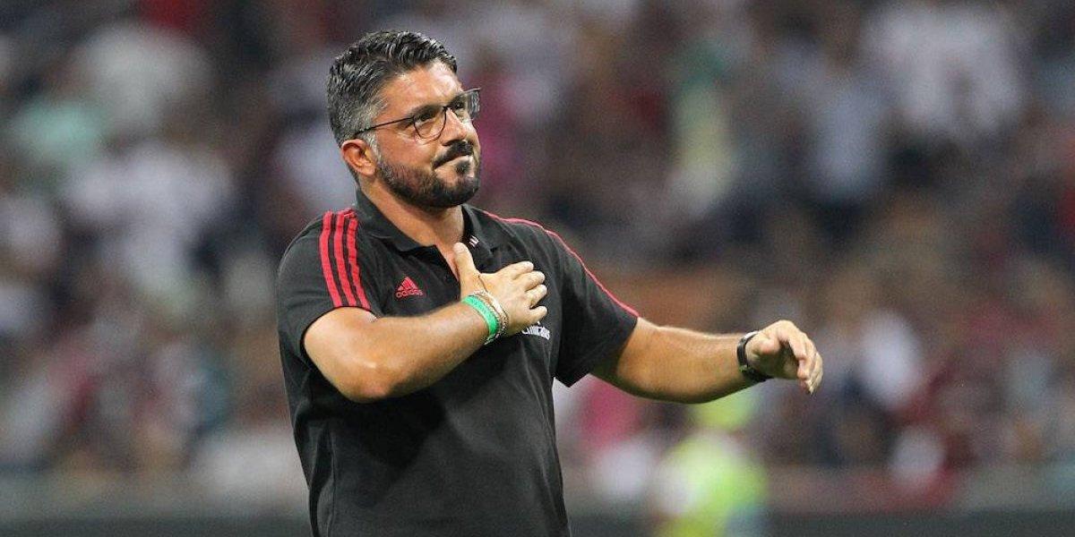 Gennaro Gattuso es nombrado entrenador del Milan
