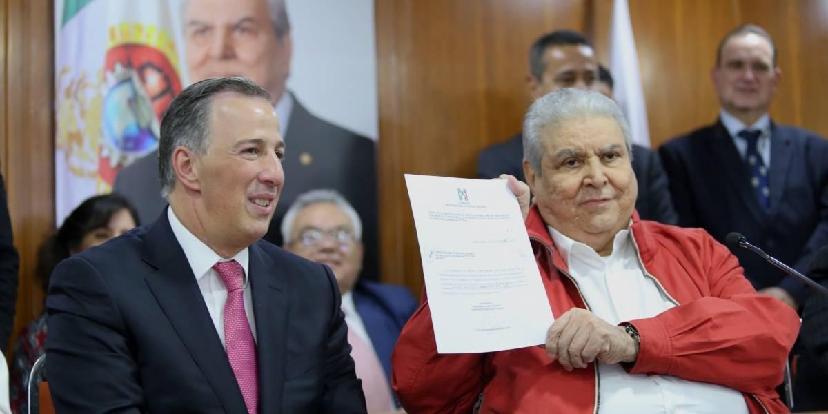 Sector agrario y popular respalda a Meade como precandidato del PRI