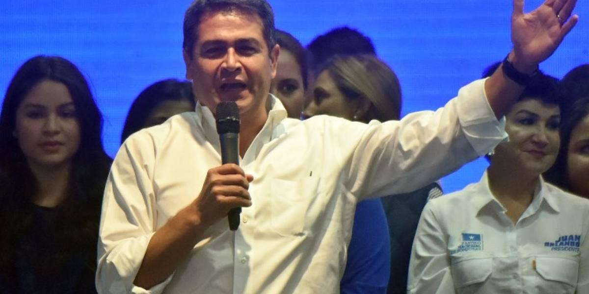 Presidente de Honduras se proclama reelecto antes de resultado oficial