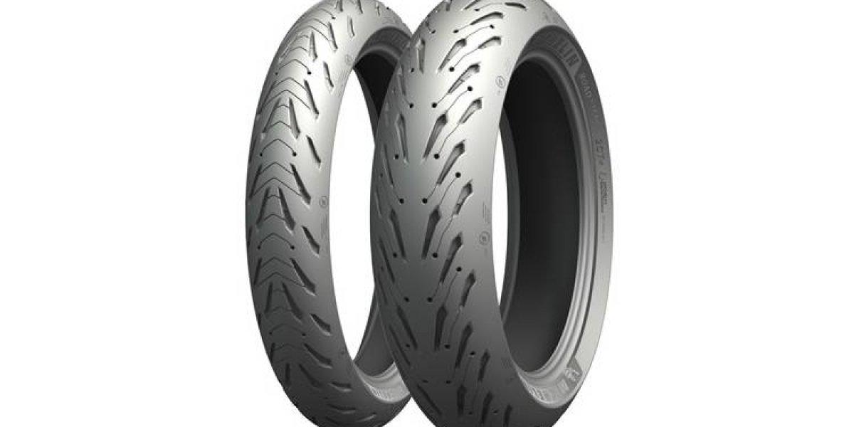 Road 5, el mejorado neumático de turismo deportivo de Michelin