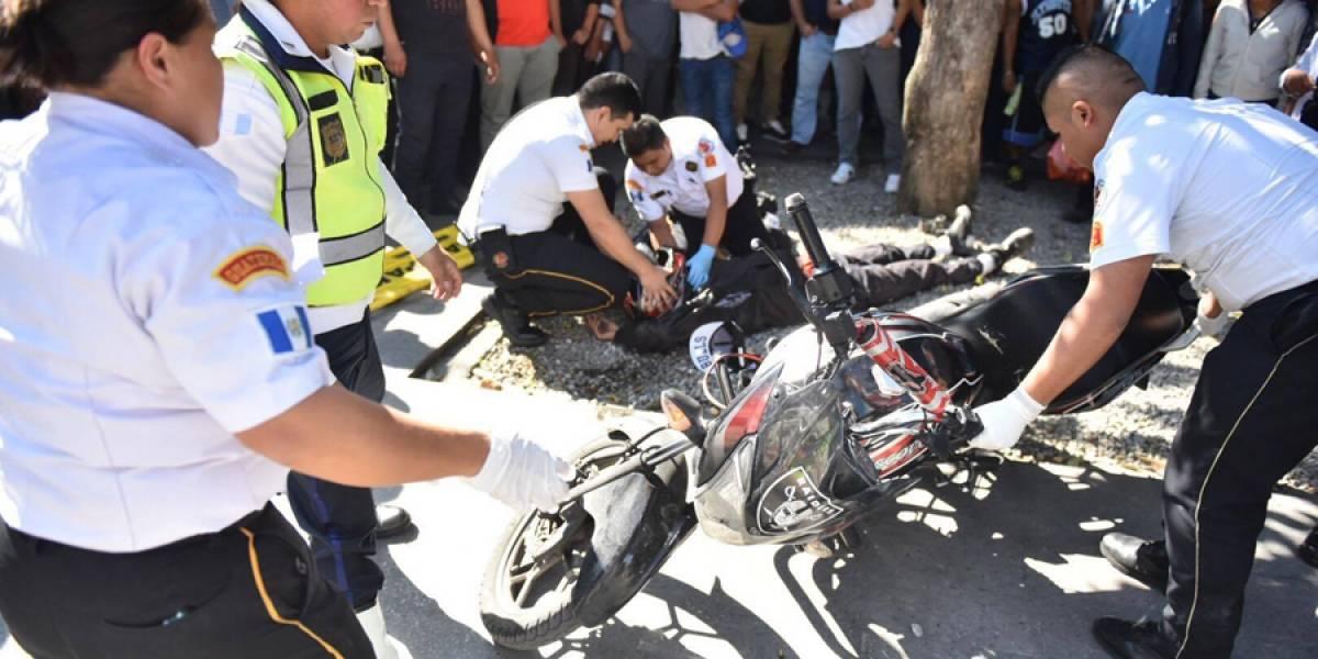 Motorista muere baleado a metros del Parque Morazán