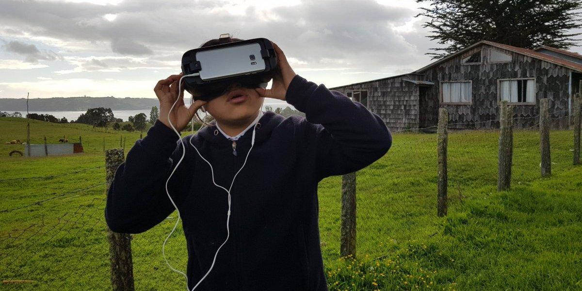 Nómada 360º: Proyecto educacional con realidad virtual recorrió el país de norte a sur