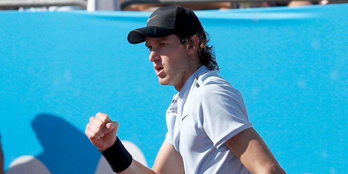 Nico Jarry tuvo un duro sorteo en el Australian Open y podría enfrentar a Nadal en segunda ronda
