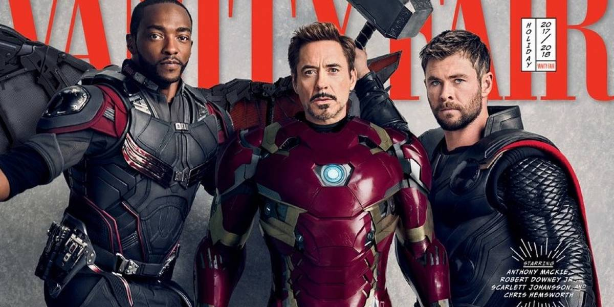 Heróis de Vingadores: Guerra Infinita estampam capas da Vanity Fair