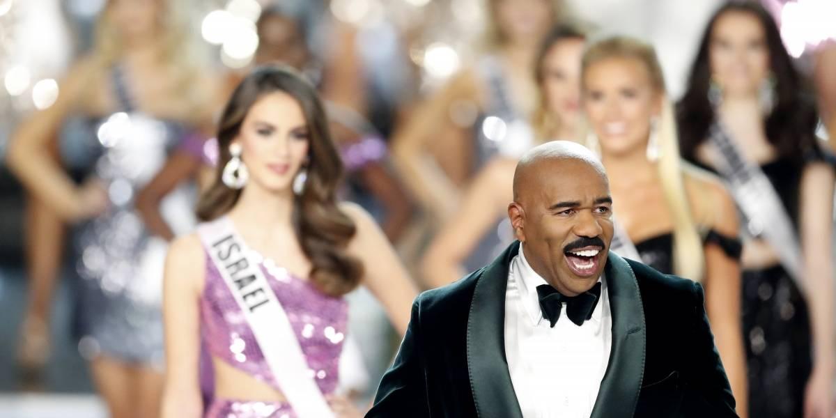 ¿Otra vez? El chiste (muy pasado) de Steve Harvey sobre Miss Colombia