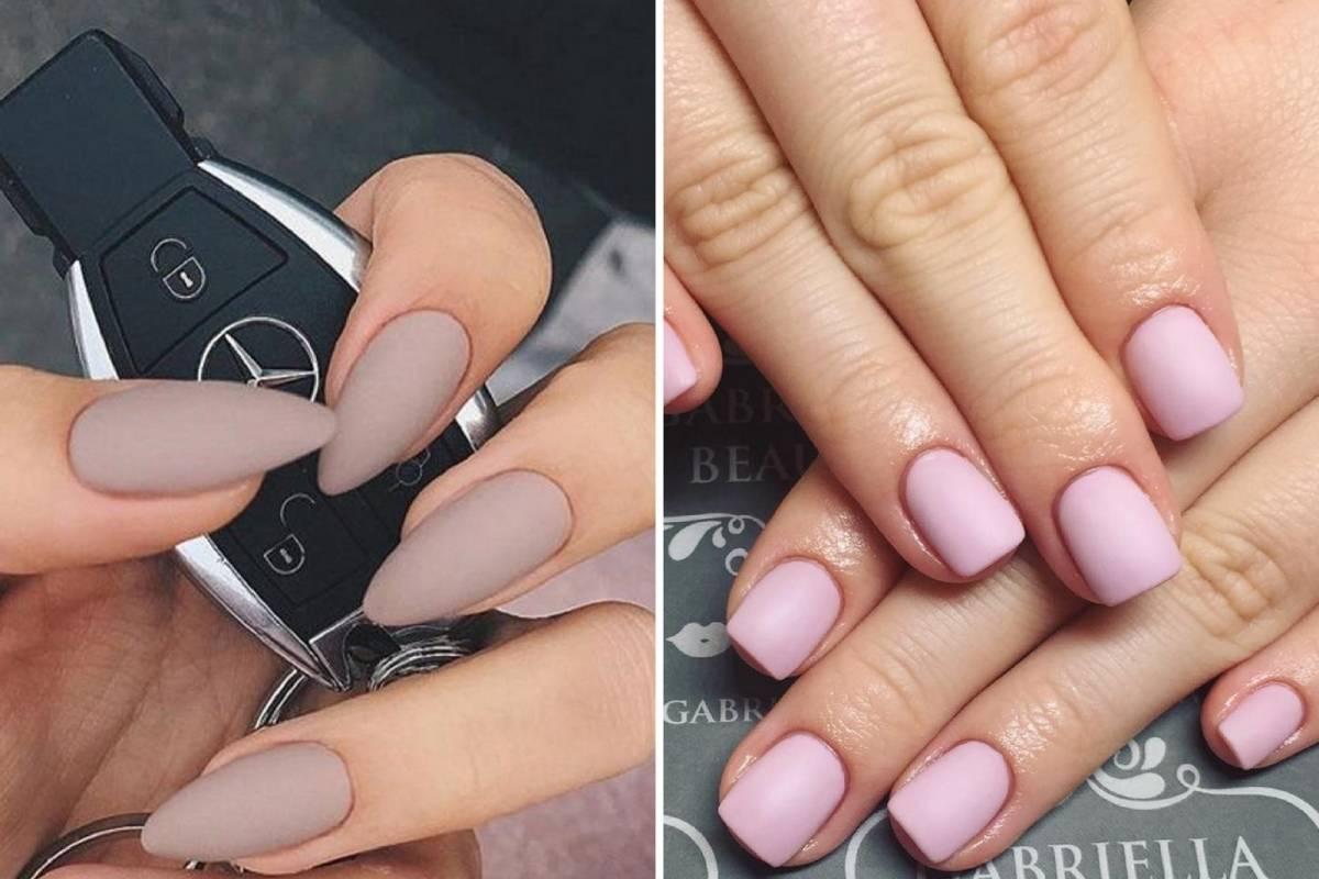 Cómo convertir un esmalte de uñas brillante en mate? | Nueva Mujer