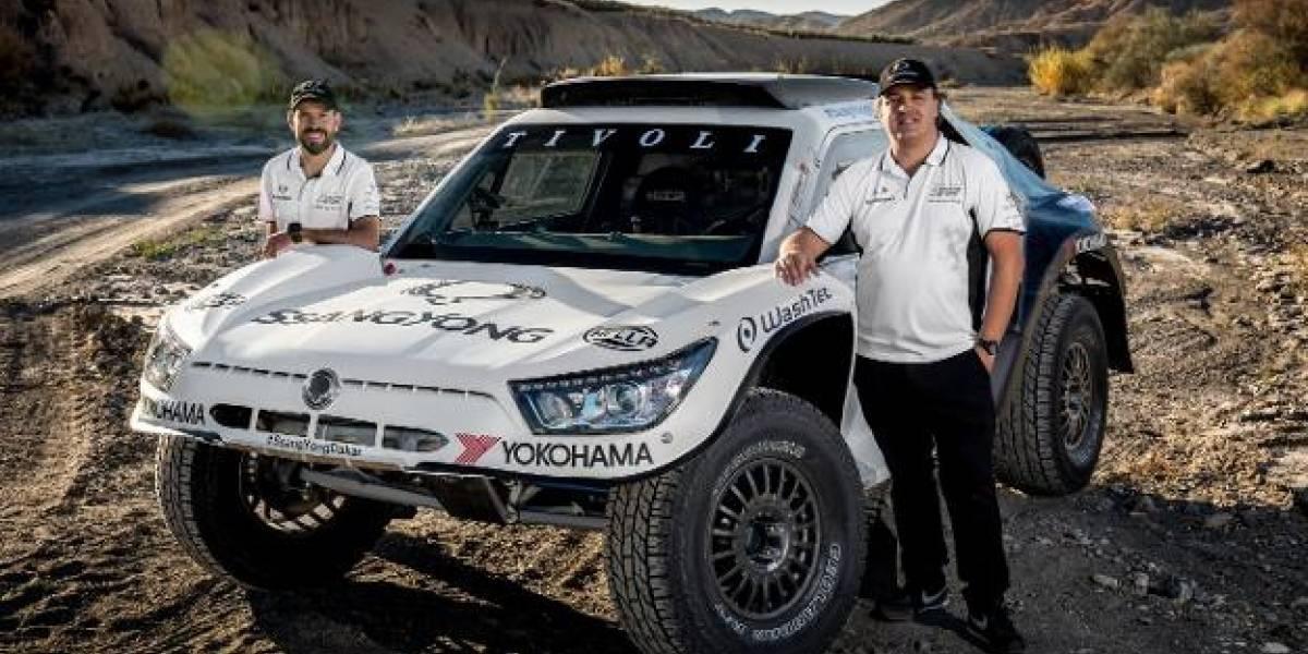Con un buggy, SsangYong vuelve a competir en el Dakar