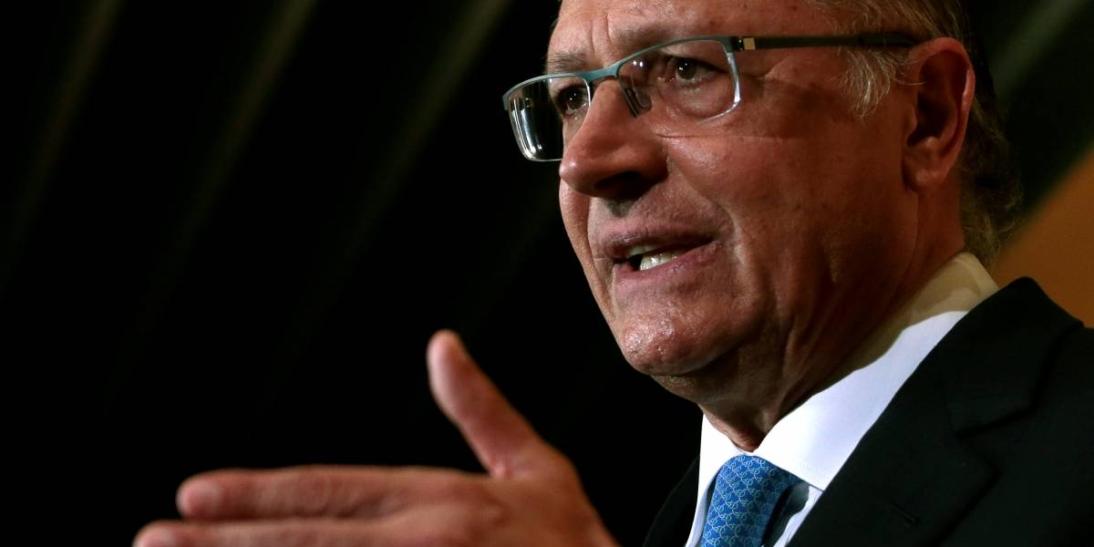 Pré-candidato à Presidência, Alckmin quer antecipar inauguração de obras