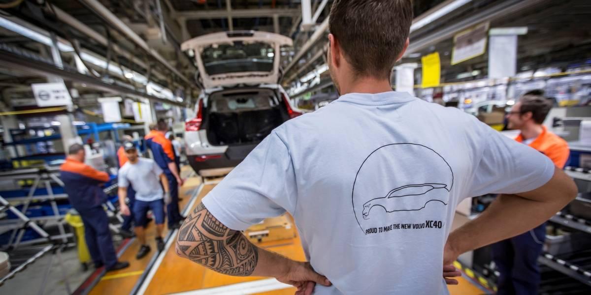 Se inicia la producción del primer SUV compacto de Volvo