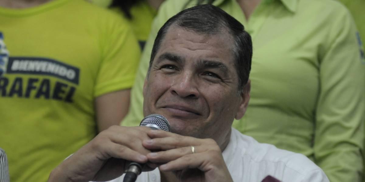 Correa: Esta hora difícil está sacando lo mejor de nosotros