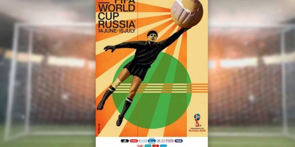 Fifa lança pôster da Copa do Mundo da Rússia