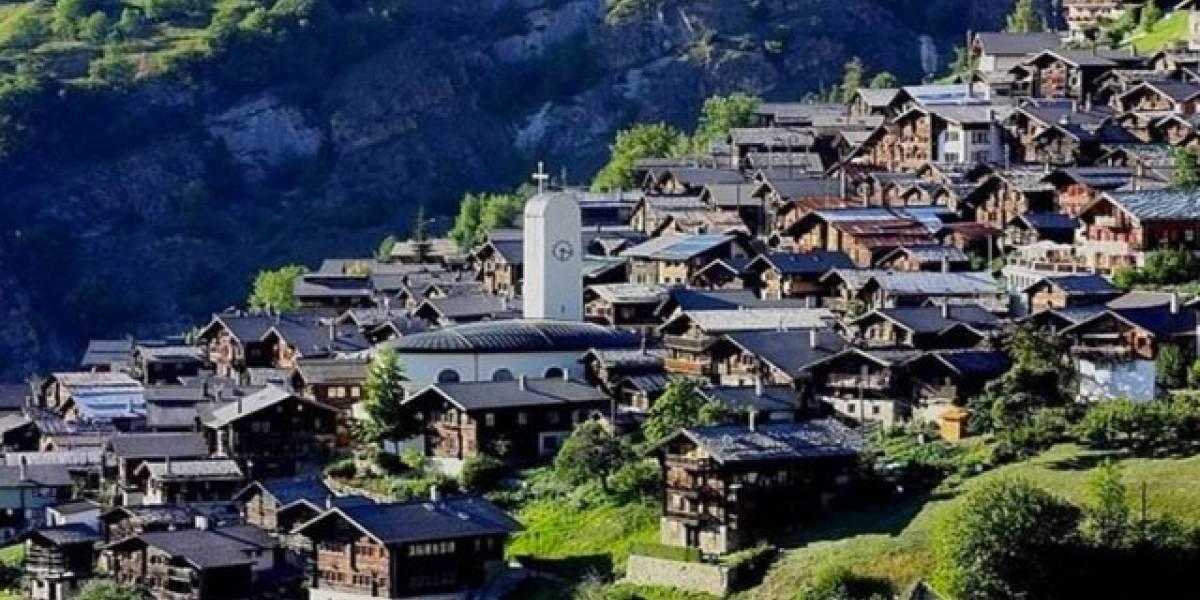 ¿Quieres vivir en un pueblo en Suiza que parece sacado de un cuento de hadas?