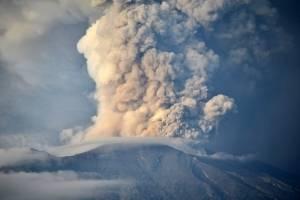 Erupción de volcán Agung, en Bali