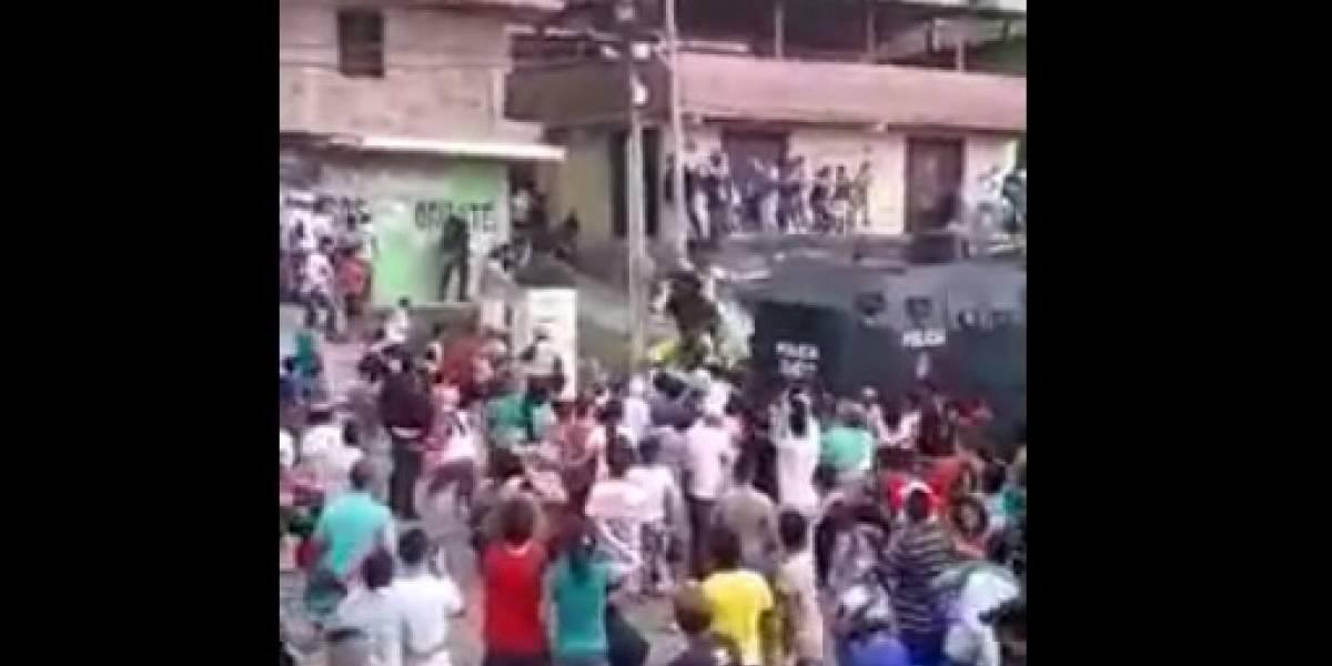 Nuevo intento de linchamiento contra presunto violador en Medellín terminó en asonada