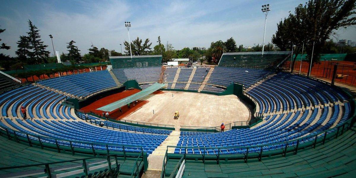 El histórico Court Central toma forma para volver a ser la sede de la Copa Davis