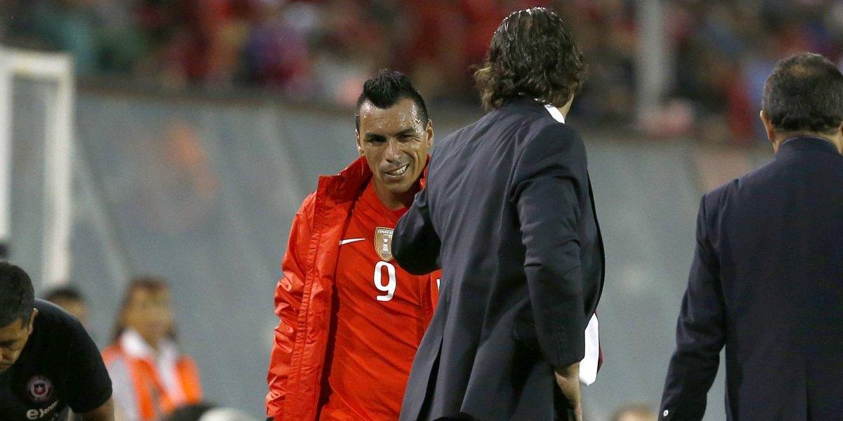 """Esteban Paredes destruye a Juan Antonio Pizzi: """"No sintió la camiseta de Chile"""""""